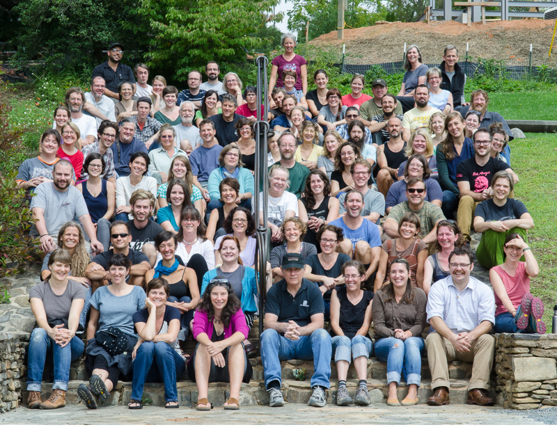 Core fellows past and present took over the studios in early September to work, collaborate, dream, and play.