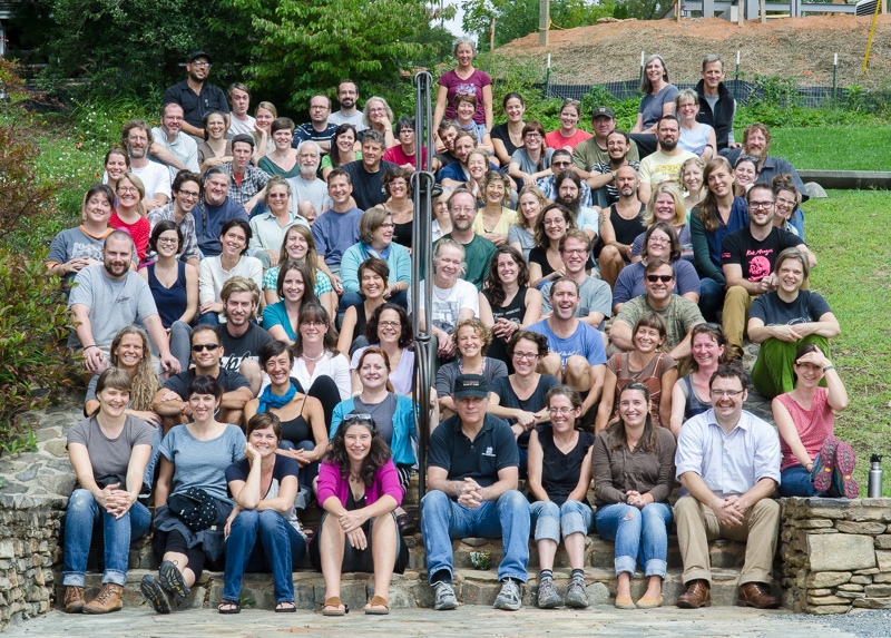 core reunion at Penland