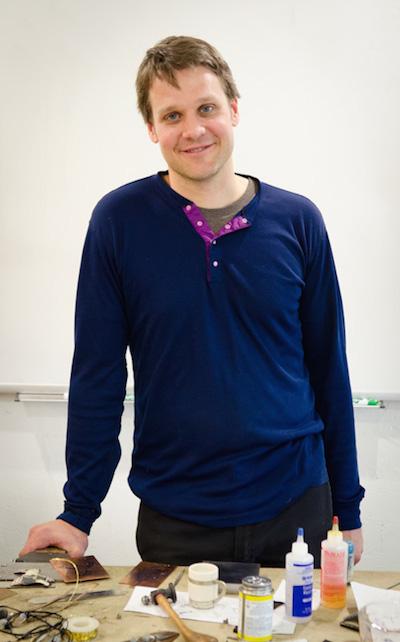 Ian Henderson, metals coordinator
