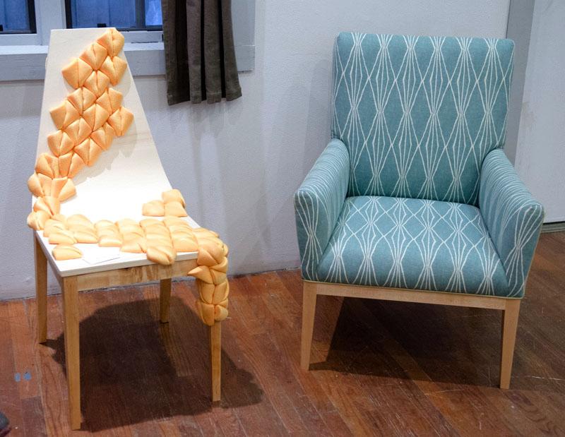 upholstered furniture at Penland