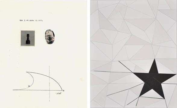 Two prints by Phil Sanders