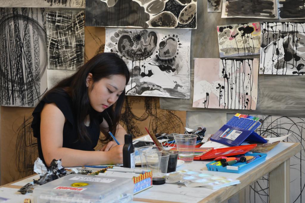 Rina Kawai drawing