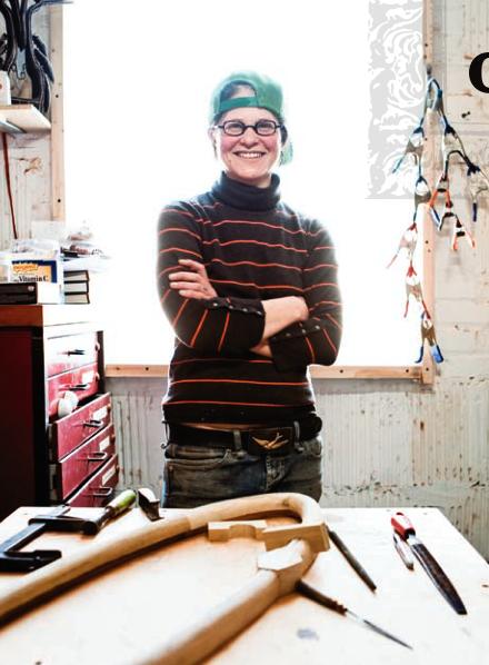 Sylvie Rosenthal in her shop