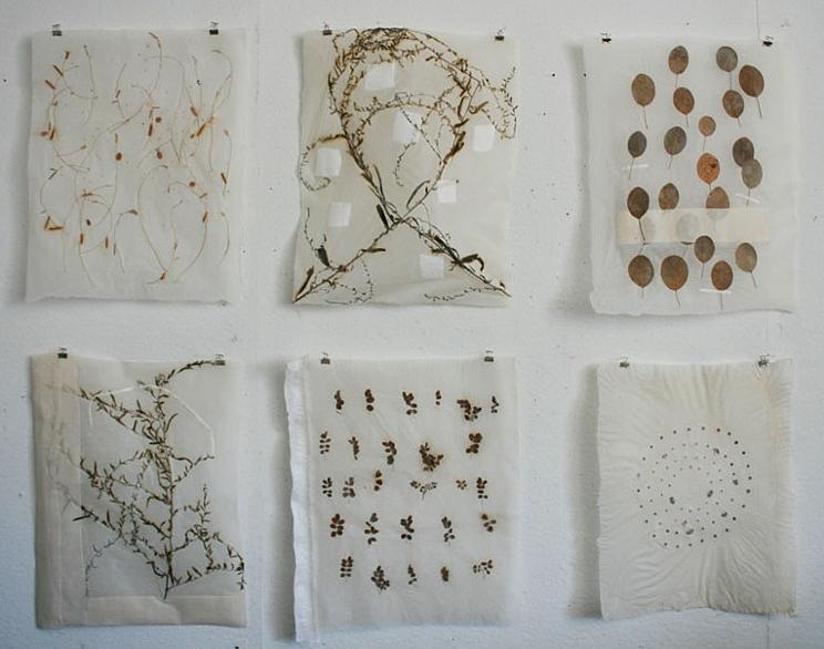 handmade paper by Ann Marie Kennedy