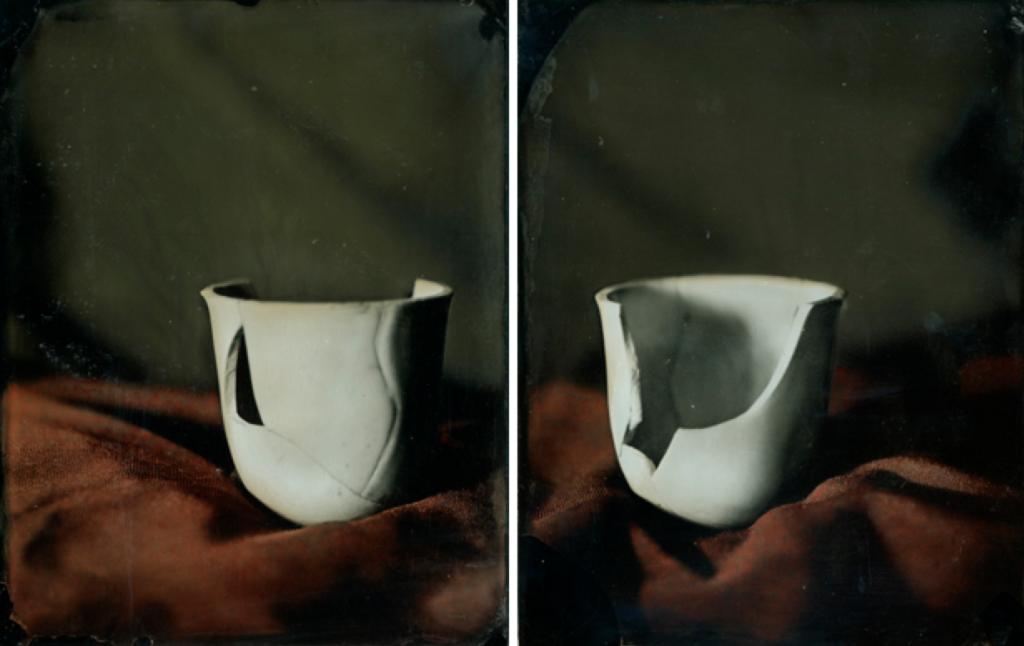 portrait of a broken cup by Heather F. Wetzel