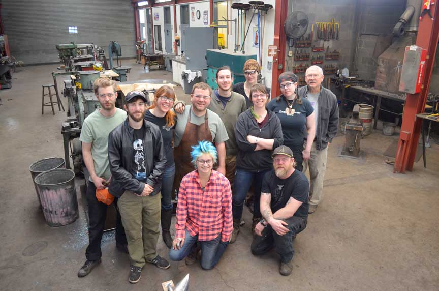 the spring 2015 iron students