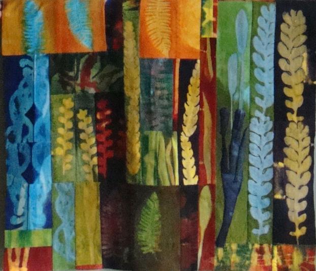 textile piece by Carol LeBaron