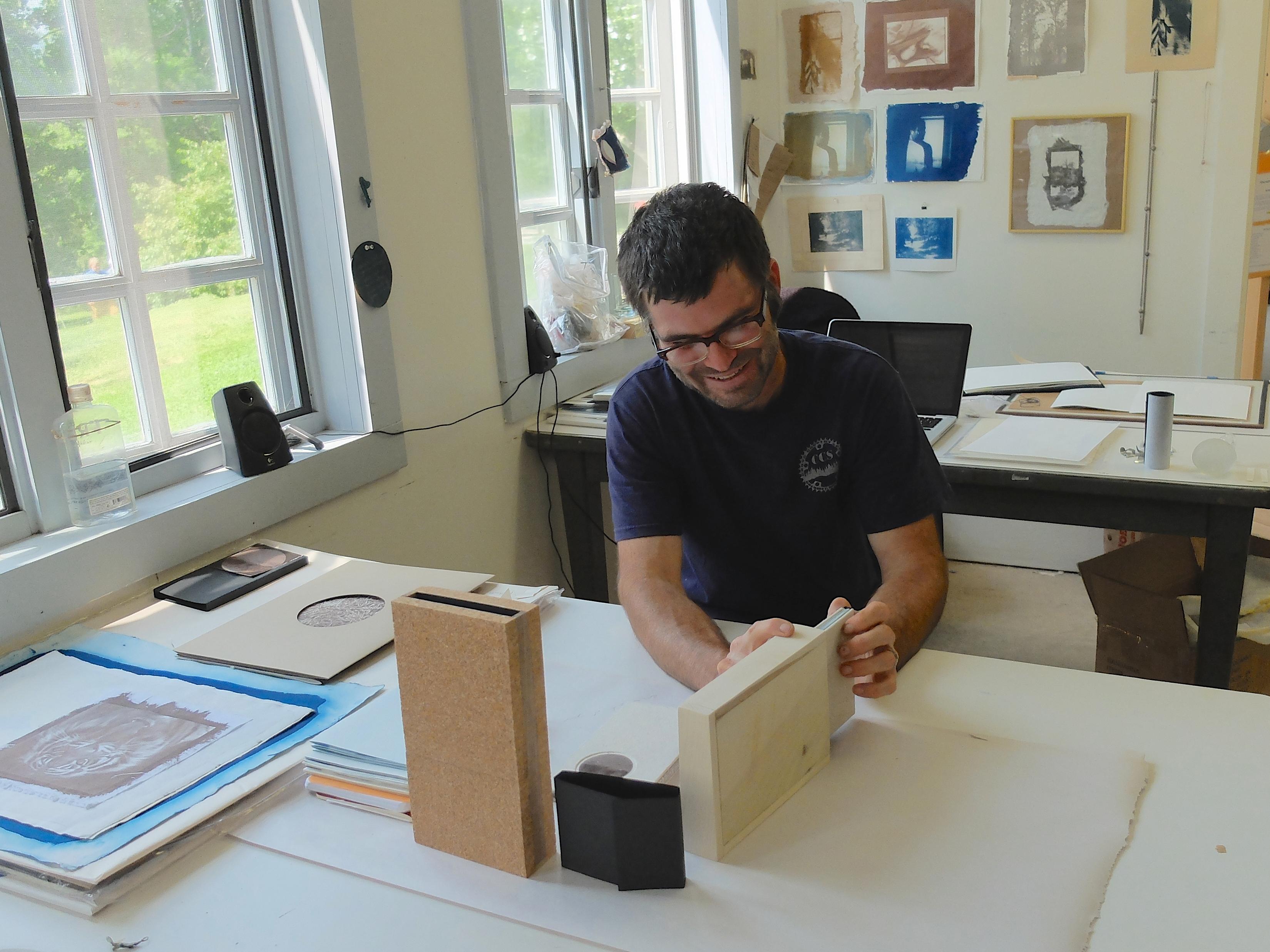 christopher davenport making books