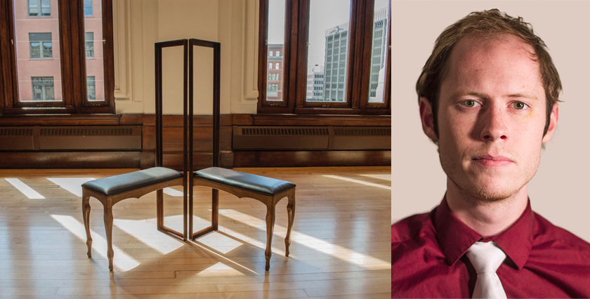 furniture by Kyle Kulchar, portrait of Kyle