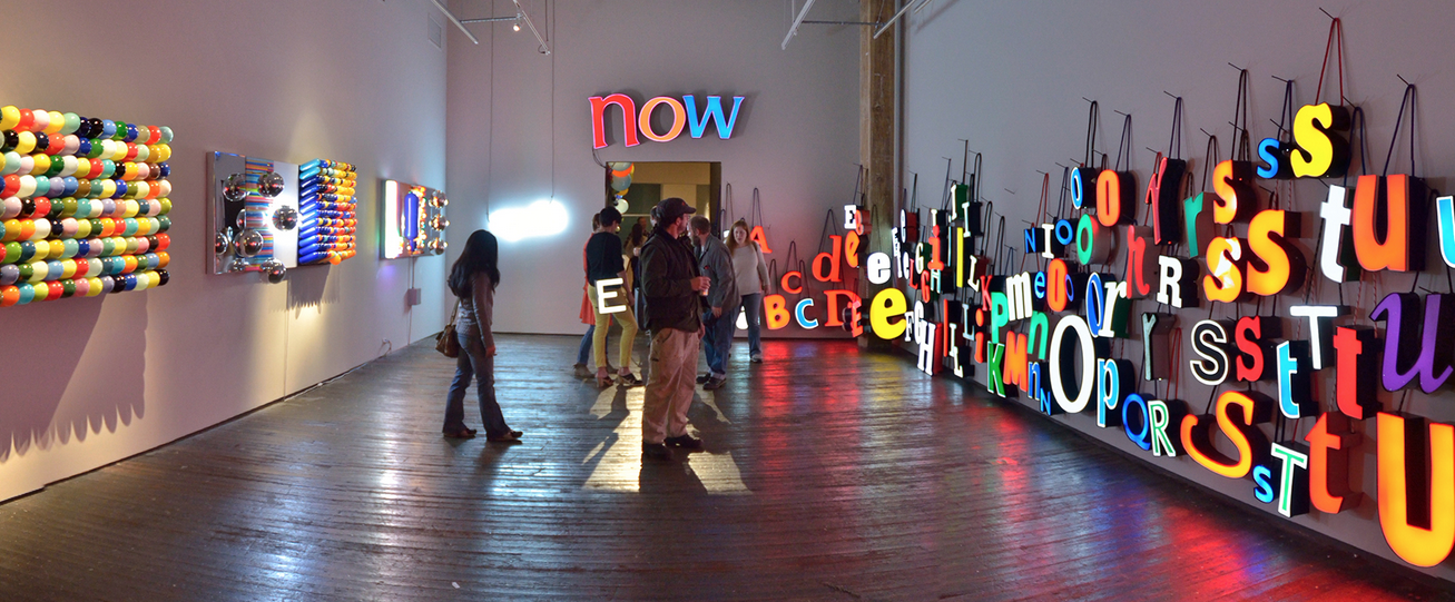 "Image of ""Look! See?"" installation by Jeremy Bart and Jen Elek"