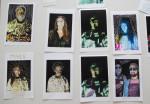 colorful, embellished digital portraits