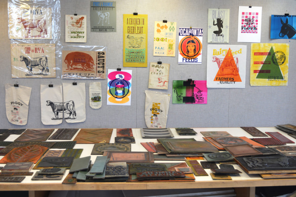 Just a small selection of the plates and prints that came through the studio in one week