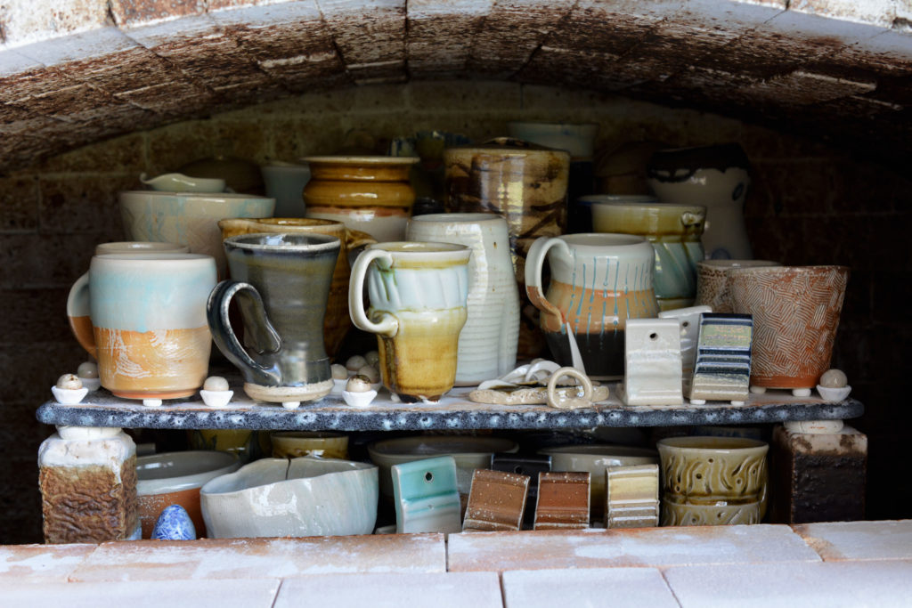 A few treasures out of the kiln