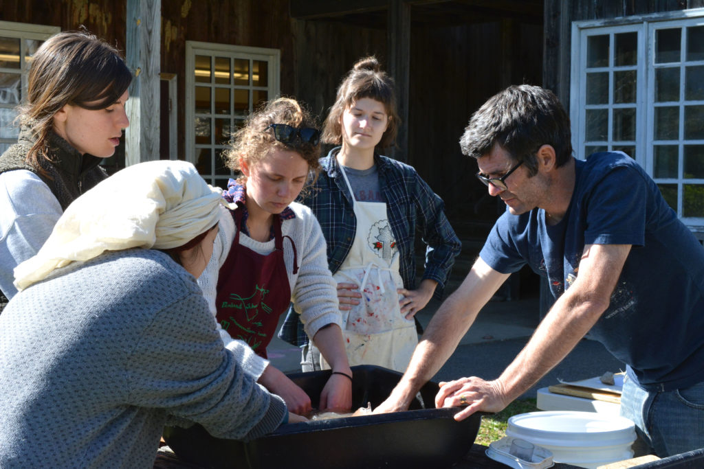 It takes teamwork to prepare pulp for papermaking