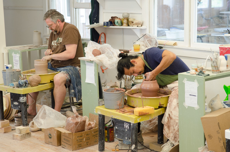 This spring's clay concentration includes throwing, decorating, and handbuilding