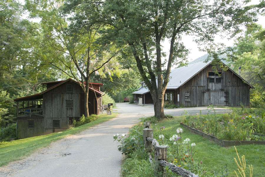 View of The Barns at Penland