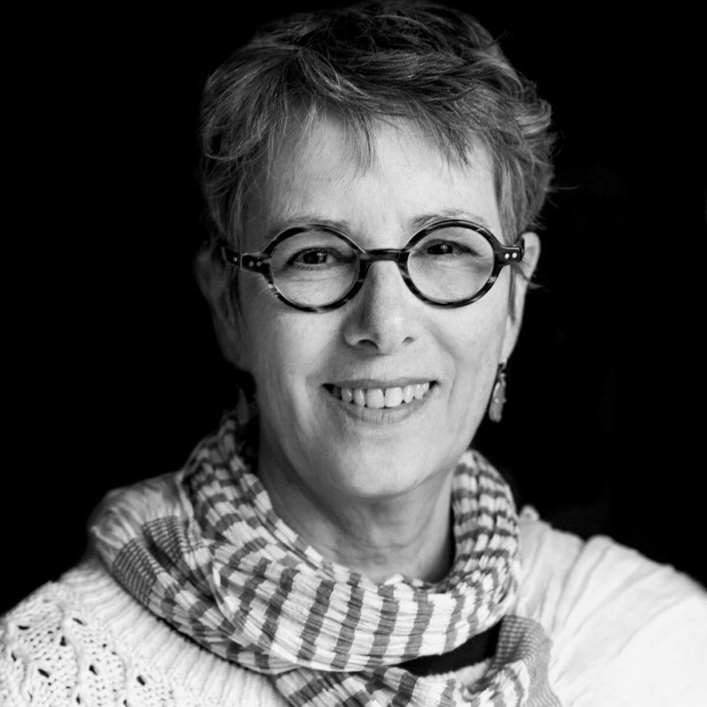 portrait of Jean McLaughlin taken by resident artist Mercedes Jelinek