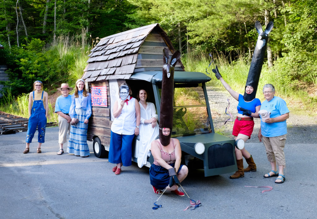 Penland's development team went all out on their recreation of the historic Travelog!