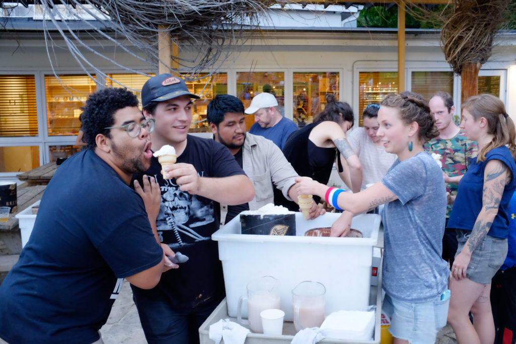 Ice cream salespeople extraordinaire (aka core fellows)