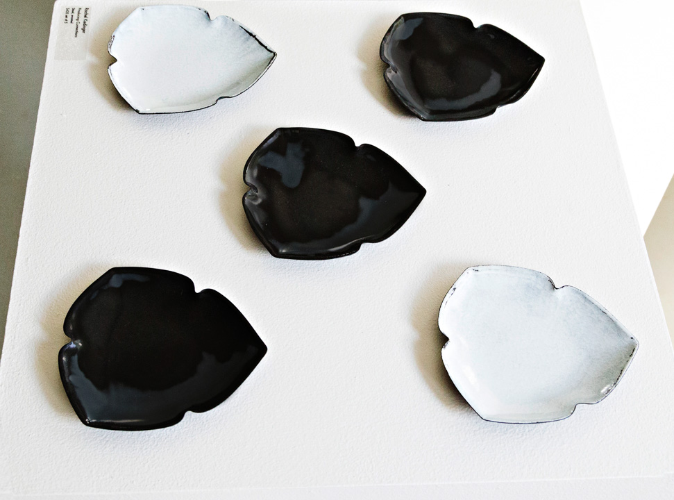 Rachel Kedinger, Producing Connections, steel, enamel