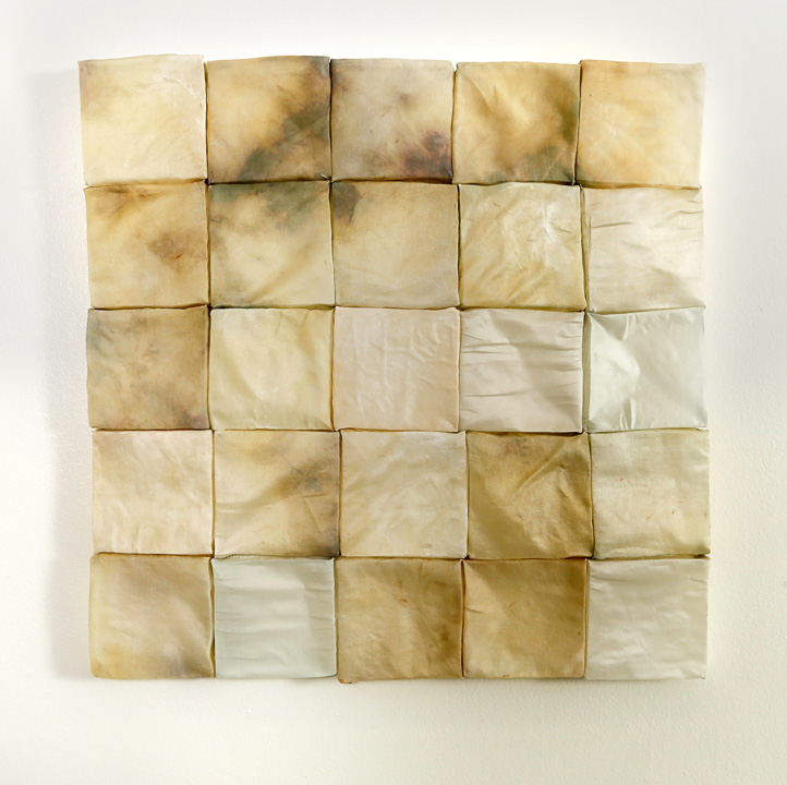 Sarah Rose Lejeune, At least there were some good dreams, cast and dyed silk organza