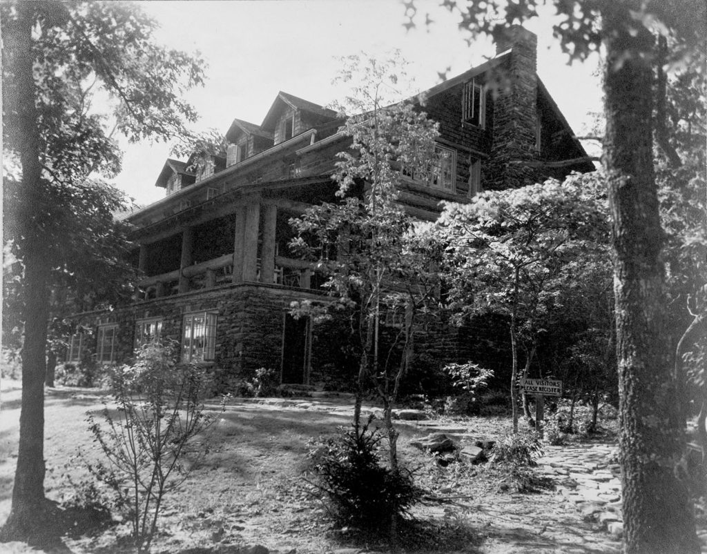 The completed Craft House, late 1930s