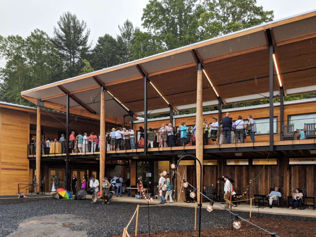 Friday's afternoon festivities centered around the new Northlight complex. The auction was the first event in the space!