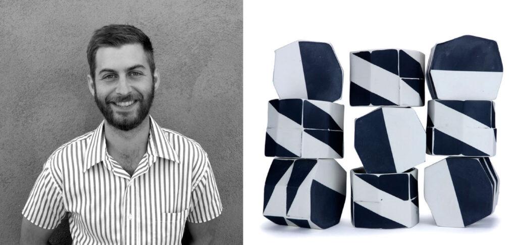Ceramic artist Daniel Garver