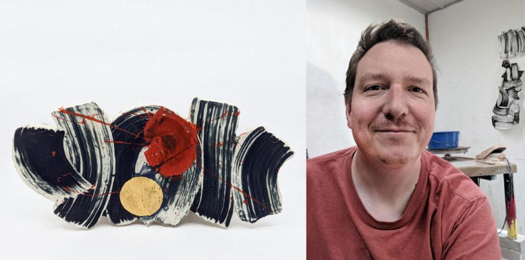 Ceramic artist Sean O'Connell