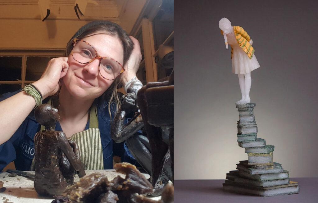 Glass artist Sarah Vaughn
