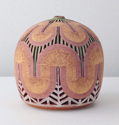 Decorative pot by Matt Repsher