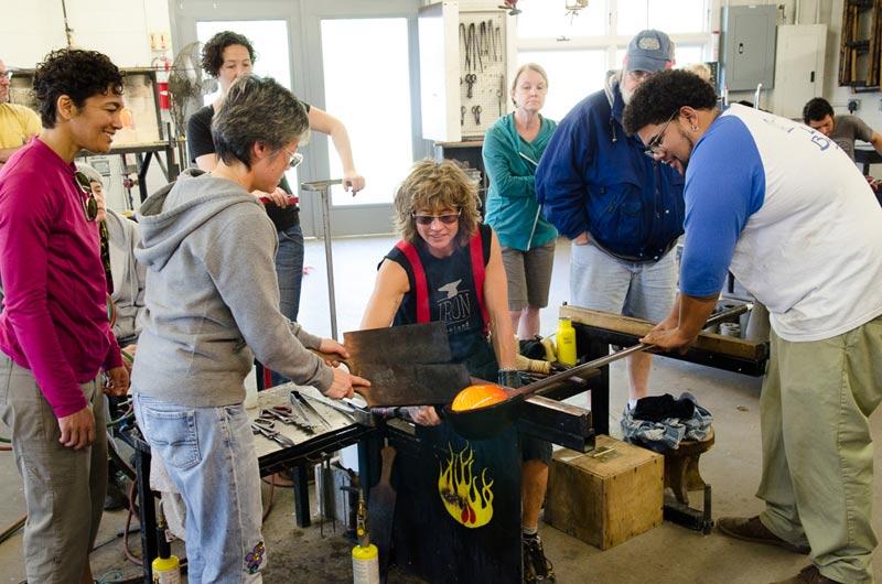 Penland Glass Studio Workshops Overview