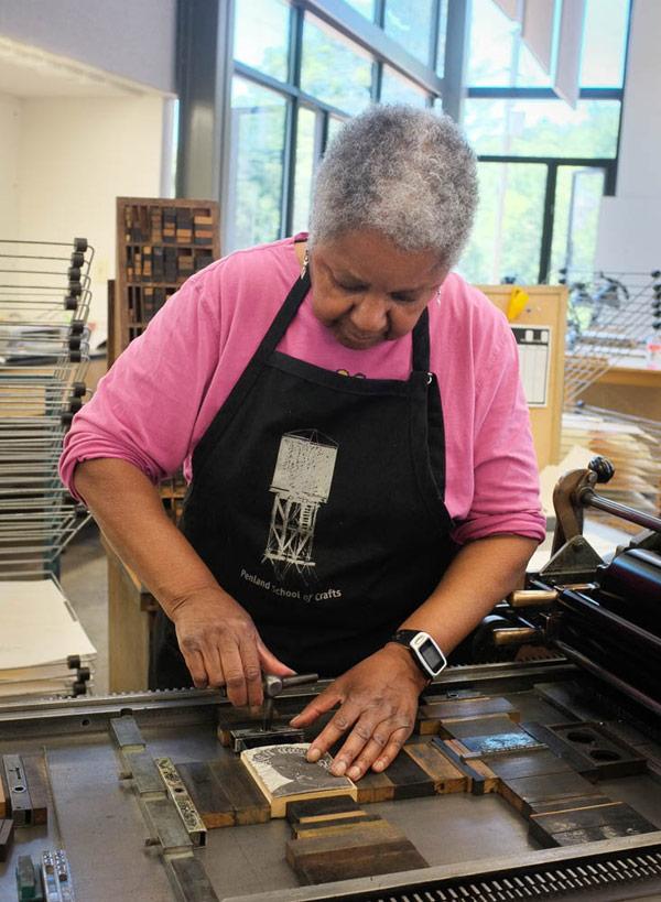 Penland Printmaking Studio
