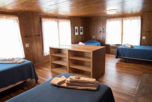 Standard dorm room, The Pines