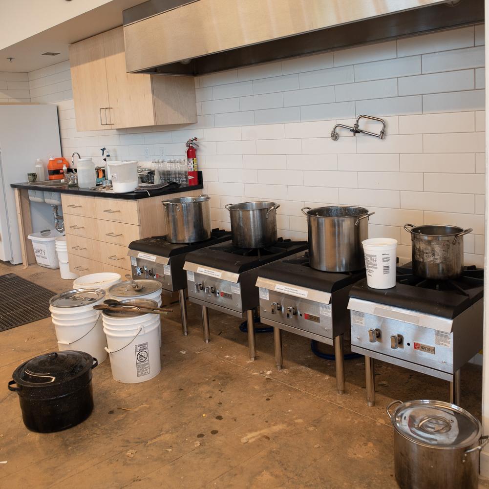paper studio kitchen