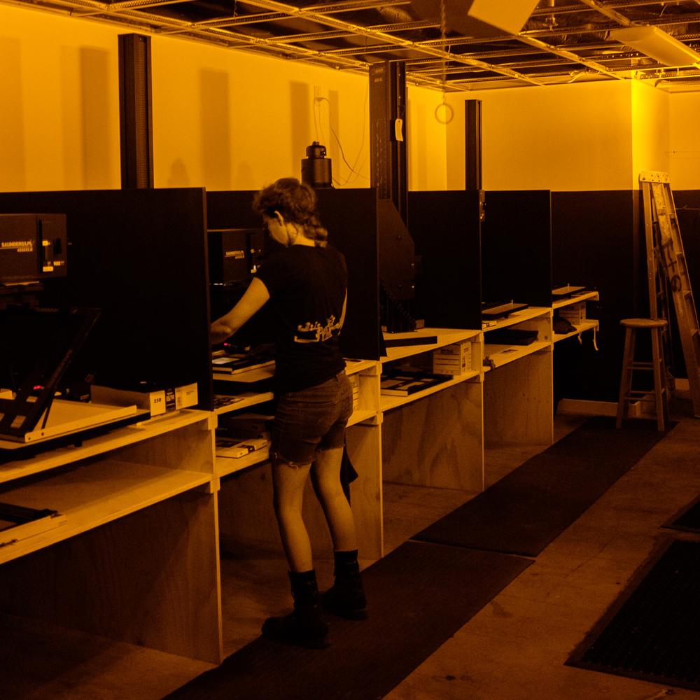 large darkroom