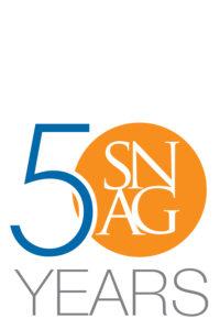 SNAG 50 years logo