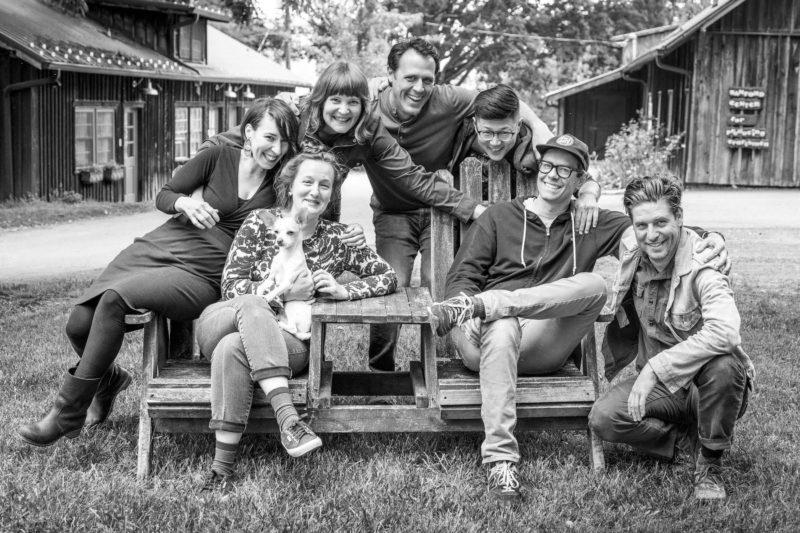 Penland resident artists 2019. image by Mercedes Jelinek