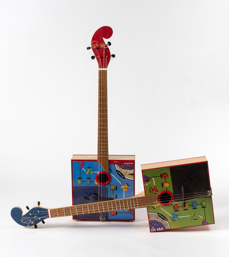 musical instruments by Beth Ireland